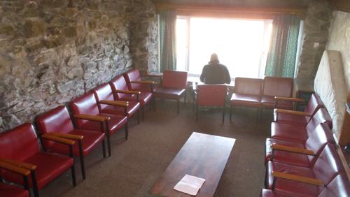Large communal lounge
